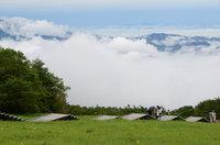 雲海と天空回廊 2015-07-09